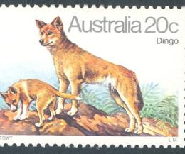 Kutyák ausztrál bélyegeken