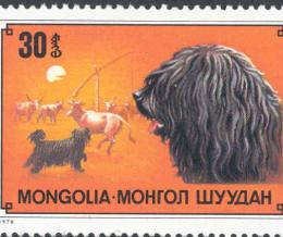 Magyar kutyák külföldi bélyegeken